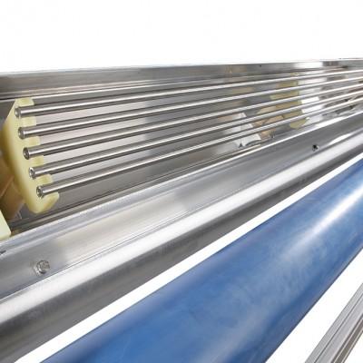 Corona électrodes métalliques