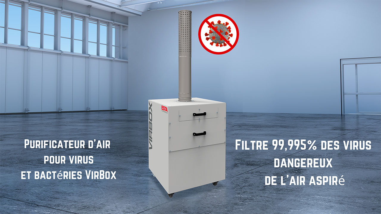 Purificateur d'air Virbox